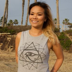 12-Point Star Sacred Geometry Muscle Tank